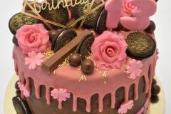 Dripcake roze