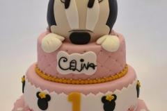 Mini Mouse taart
