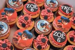 Cupcake-rood-zwart