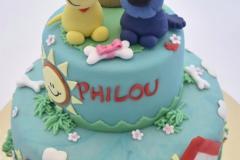 Woezel en Pip verjaardagstaart