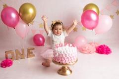 Smash cake Sofia 1