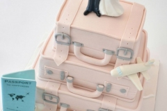 Bruidstaart-koffers